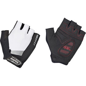 GripGrab SuperGel Short Finger Padded Gloves white